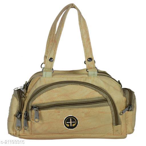 Lehrua Women Beige Mini Messenger Bag Sixe (24.5x14.3x5.5) CM