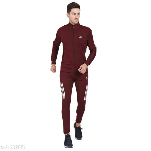 Comfy Men's Tracksuit Top & Bottom All Weather 4way Fabric