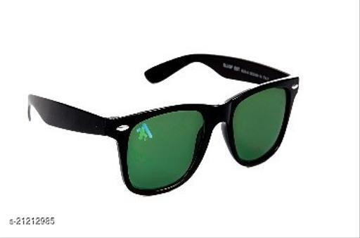 AJBLINKER UNISEX BLACK GREEN WAYFARER