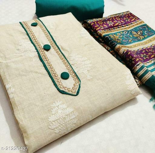 Charvi Voguish Semi-Stitched Suits