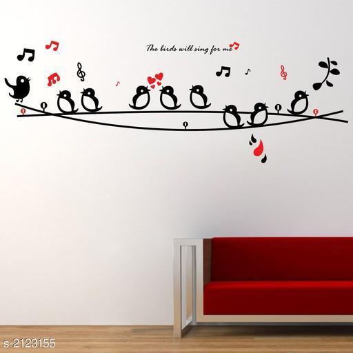 Trendy Vinyl Wall Sticker