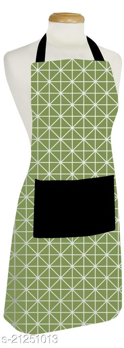cotton branded apron with free size