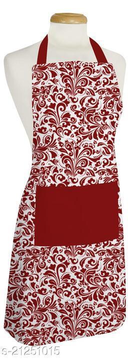 Cotton women's kitchen apron