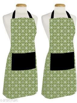 Feather Green Stylish Kitchen apron