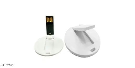 Tangy Turban_Round Coin Card_16 GB_White_Pendrive