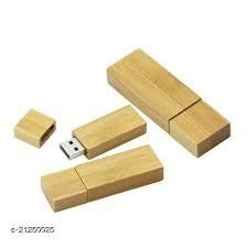 Tangy Turban_Wooden Rectangle_16 GB_Wood_Pendrive