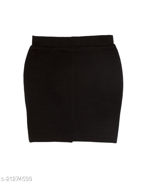 straight pencil skirt with back  cut