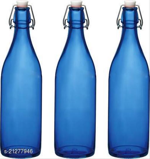 Trendy Luck n Tuk Air tight glass bottle (pack of 3)