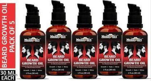 Park Daniel Red Onion Beard Growth Oil- For Beard Growth, Style & Shine(30 ml) Hair Oil (30 ml)