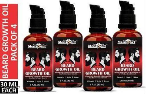 Park Daniel Red Onion Beard Growth Oil- For Beard Growth, Style & Shine Combo pack of 3 bottles of 30 ml(90 ml) Hair Oil (90 ml)