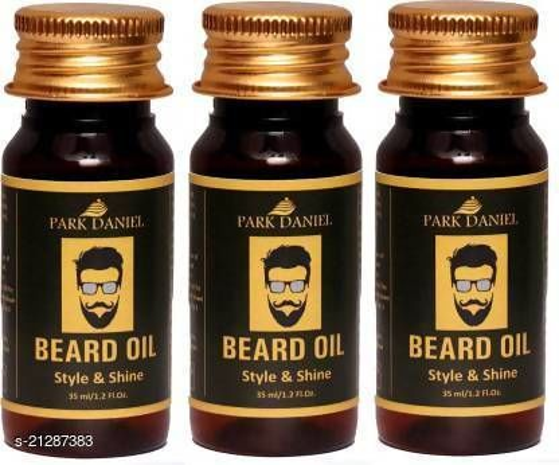 Park Daniel Beard Oil for Beard hair Growth(35 ml) Hair Oil (35 g)