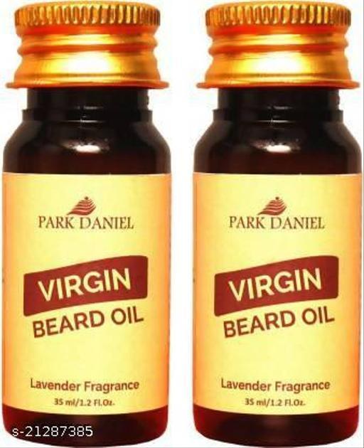 Park Daniel Beard oil Lavender Fragrance combo of 2 no.35 ml Bottles Hair Oil (70 ml)