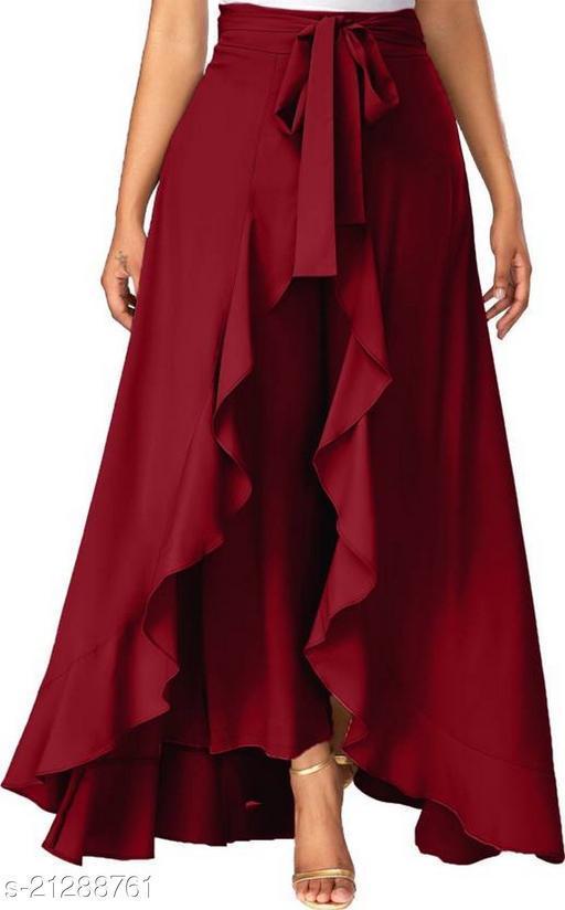 Elegant Fashionista Women Palazzos