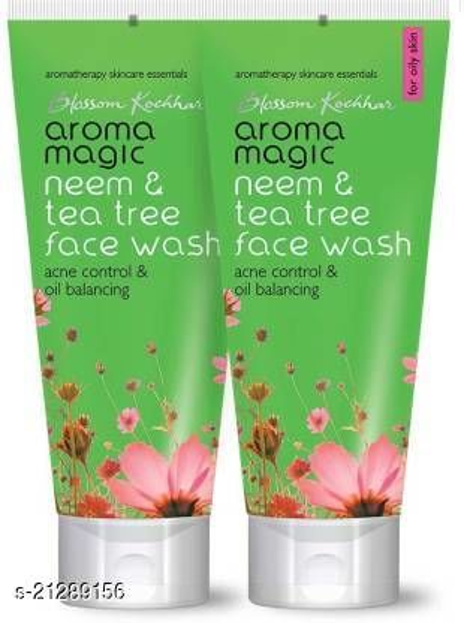 Aroma Magic Neem & Tea Tree - 100 ml Pack of 2 Face Wash