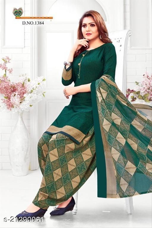 leon crepe dress material