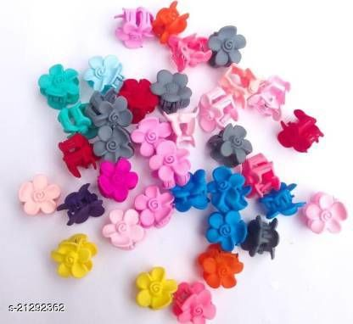 FASHIONER Multicolour Mini Hair clips