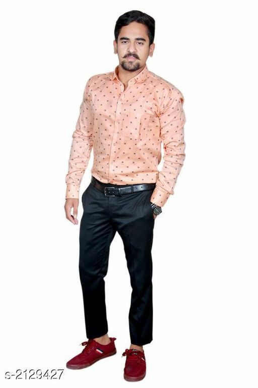 Urbane Cotton Men's Shirt