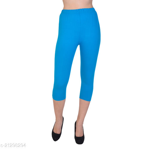 Fasha Cotton capri for girls/women combo pack of 1