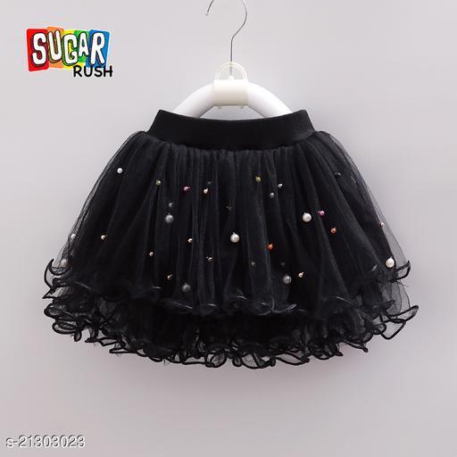 Sugar Rush Black Girls Skirt