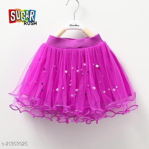 Sugar Rush Purple Girls Skirt