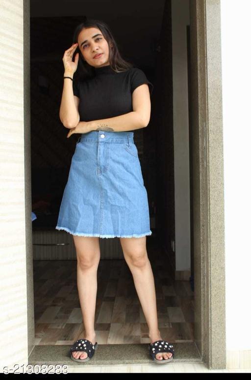 Fashionable Modern Women Western Skirts