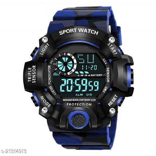 New Digital Blue Army 221 Sports Watch For Boys-Mens