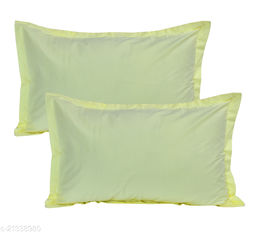 HK Collection Latest Design Heavy Pillow Covers (Set of 2 Pieces)