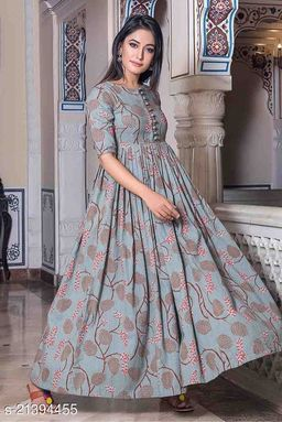 Innovative Multi Colored Party Wear Gown