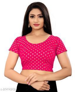 Latest Foli printed simple blouse