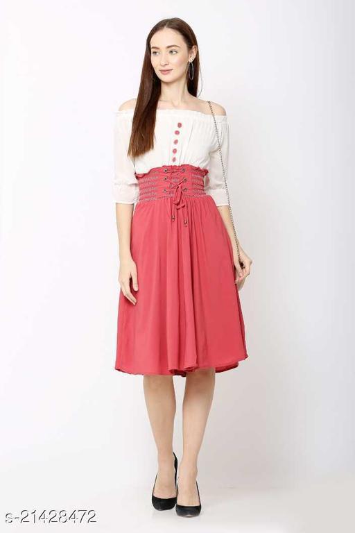 Wia Fashion Stylish Short Skirt Dress