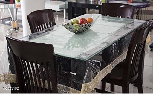 Elegant PVC Dining Table Cover