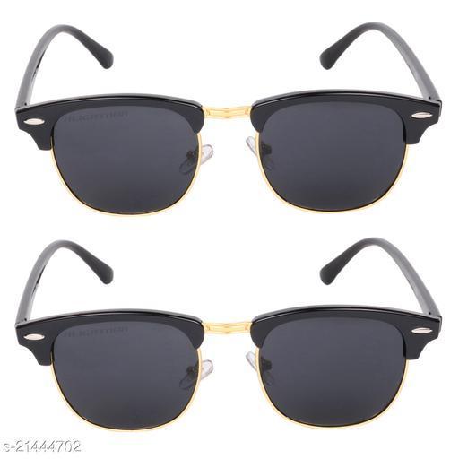 Criba_Club Master Black_Sunglasses_Pack of 2
