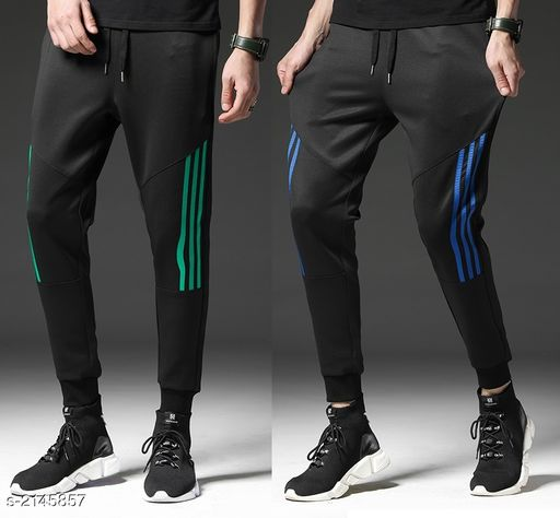 Voguish Polyester Men's Track Pant ( Pack Of 2 )