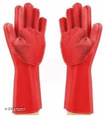 Cleaning Gloves Reusable Rubber Hand Gloves