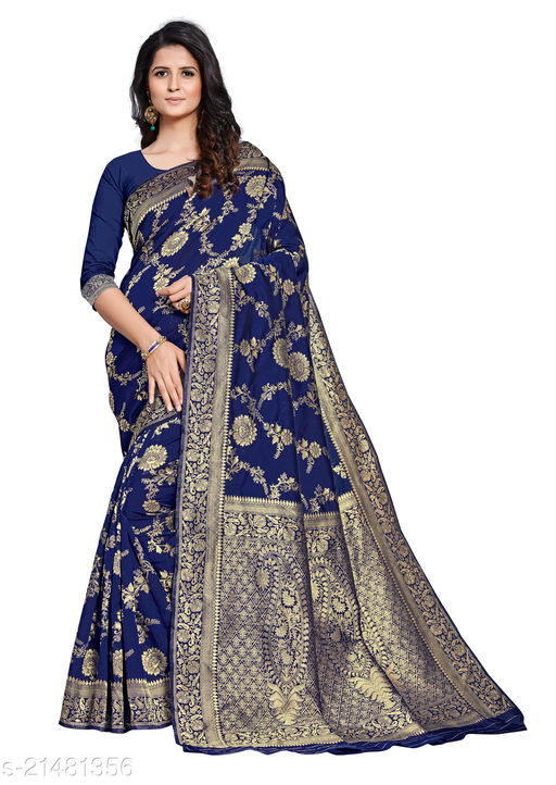 Attractive Paithani Silk Jacquard saree With Blouse Piece