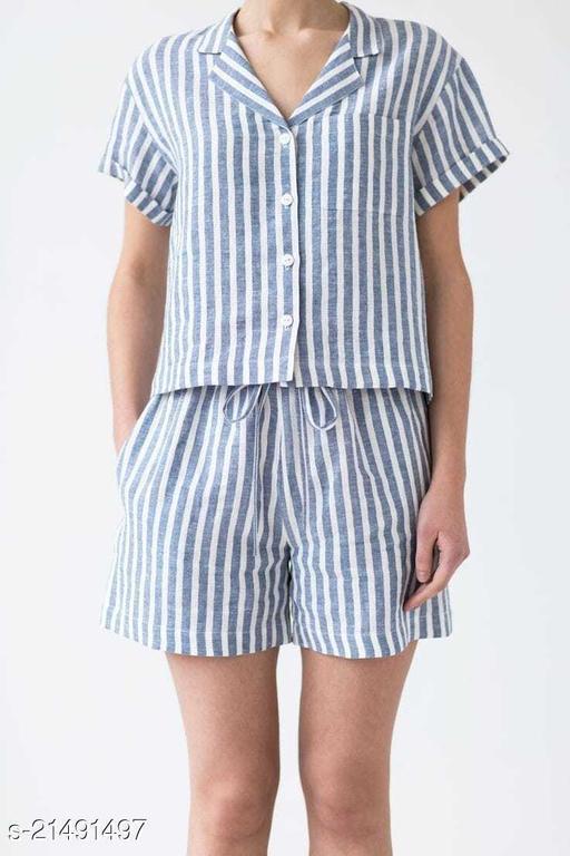 Women / Girls Cotton Night Suit/ Night Dress