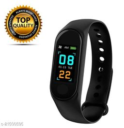 M3 Smart Band With Scratch poof Lamination Fitness TrackerBand