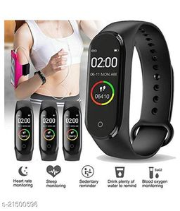M4 Smart Band With Scratch poof Lamination Fitness TrackerBand