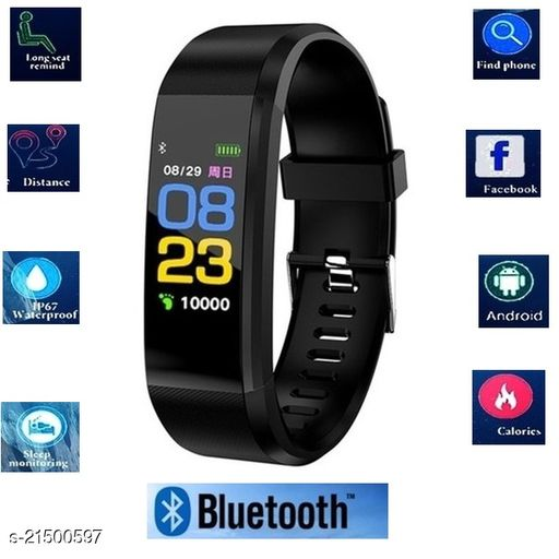 ID115 Smart Band With Scratch poof Lamination Fitness TrackerBand