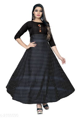 Ladies Black&White Cotton Striped T-shirt Dress