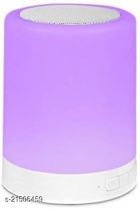 Rsfuture Best lamp LED Touch Lamp Portable Bluetooth Speaker, Wireless HiFi Speaker *&@(Assorted-Colour May Very)