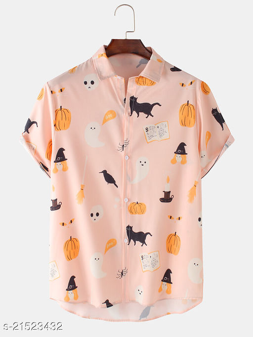 Men's poly Cotton Digital Printed Unstitched Shirt