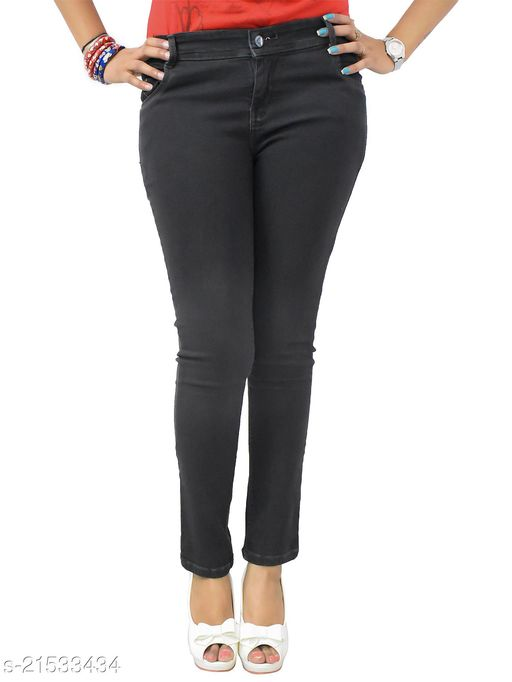 Women Brown Skinny Fit Mid Rise Stretchable Denim Jeans