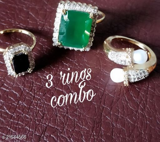 Twinkling Glittering Rings