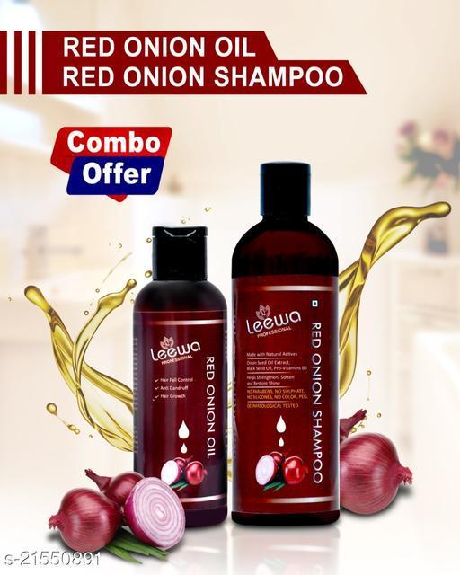 Leewa Harbel Onion Oil And Shampoo Combo 001