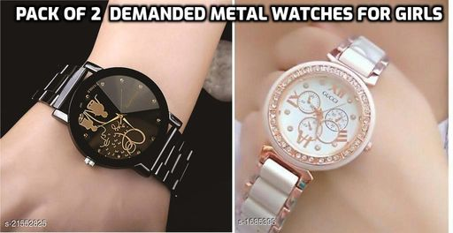 pack of 2 watches for girls