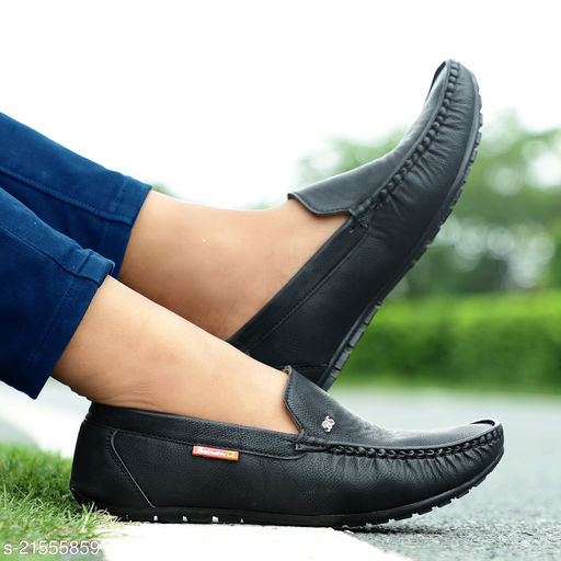 Men's Stylish Synthetic Leather Loafers