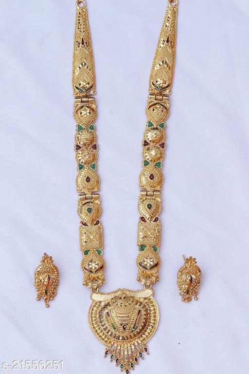 Trendy Brass Plated Jewellery Sets