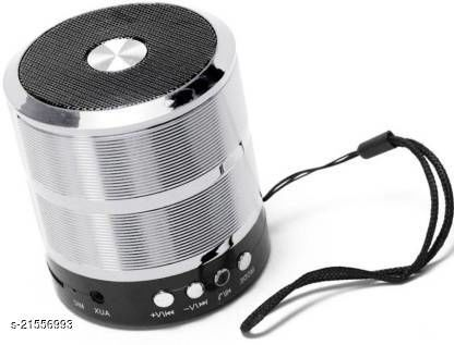 Rsfuture Best Mini Bluetooth Speaker WS-887 with FM Radio, Memory Card Slot #&@(Assorted-Colour May Very