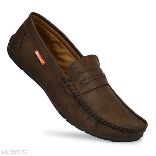 Men's Synthetic Leather Tpr sole Loafers